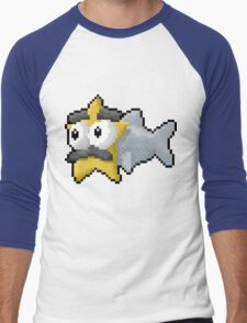 Starfishmanfish pixel tee Men's Baseball ¾ T-Shirt