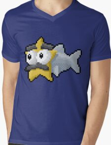 Starfishmanfish pixel tee Mens V-Neck T-Shirt