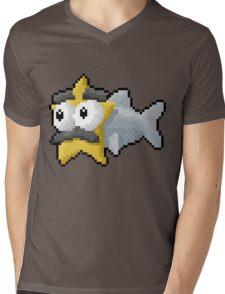 Starfishmanfish pixel tee Mens V-Neck T-Shirt