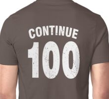 Team shirt - 100 Continue, white letters Unisex T-Shirt