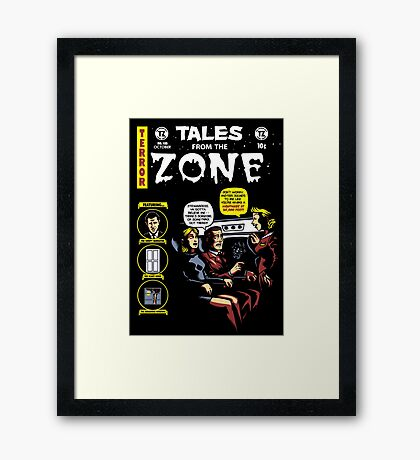 Tales from the Zone 2 Framed Print