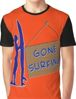 Gone Surfing Graphic T-Shirt