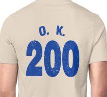 Team shirt - 200 O.K., blue letters Unisex T-Shirt