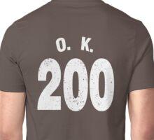 Team shirt - 200 O.K., white letters Unisex T-Shirt