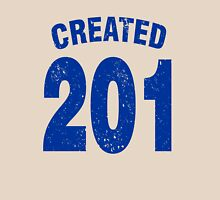 Team shirt - 201 Created, blue letters Unisex T-Shirt