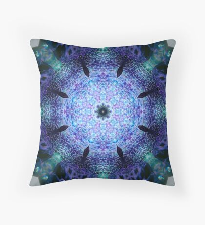 Paperweight Kaleidoscope Throw Pillow