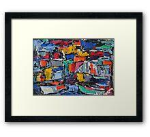 amalfi 25 Framed Print