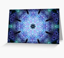 Paperweight Kaleidoscope Cropped Greeting Card