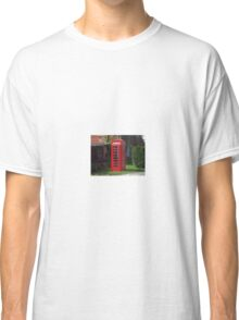 British Telephone Box Classic T-Shirt