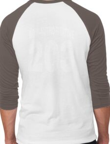 Team shirt - 203 Non-Authoritative, white letters Men's Baseball ¾ T-Shirt
