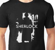 Sherlock Black Cover Unisex T-Shirt