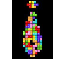Tetris Tie Photographic Print