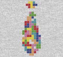Tetris Tie Kids Tee