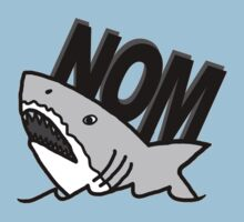 Shark Nom Kids Clothes
