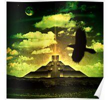 Mayan Dreamscape Poster