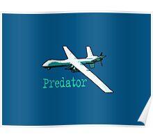 Spooky predator! Poster