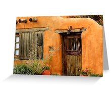 Canyon Road, Santa Fe Greeting Card
