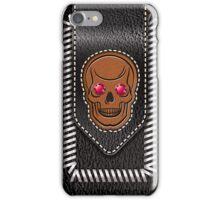 Hot Head Leather iPhone Case/Skin