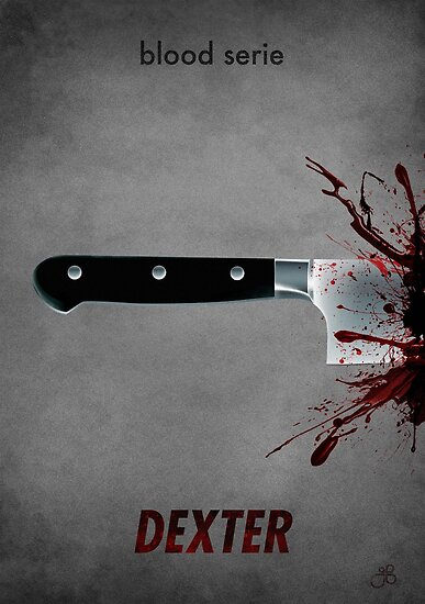 Dexter - blood serie by guillaume bachelier