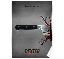 Dexter - blood serie Poster