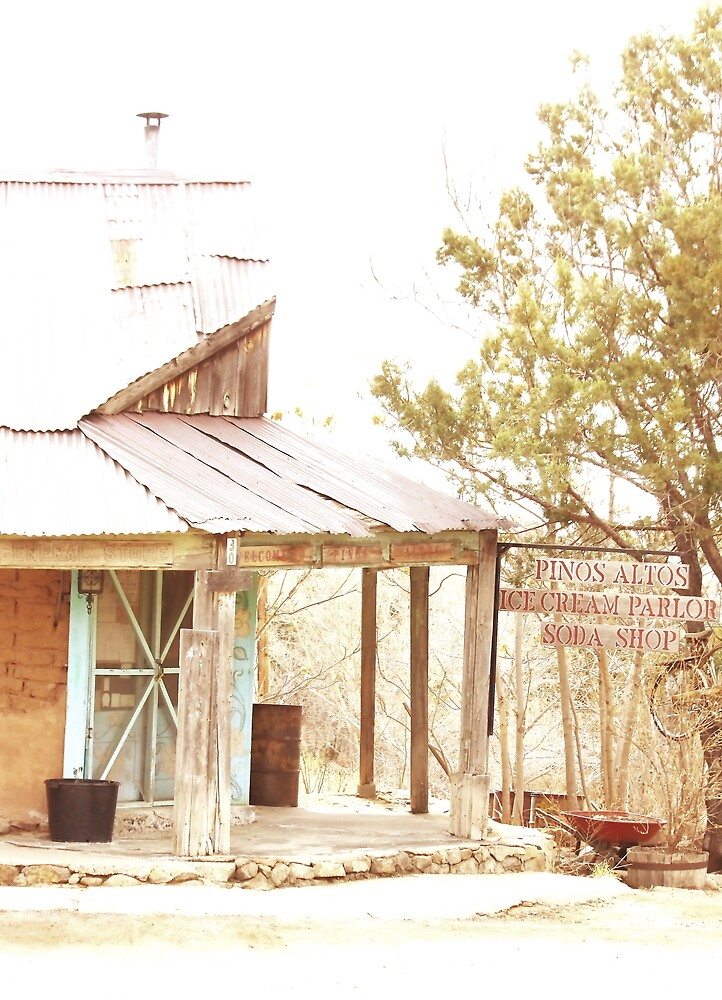 Old Post Office, Pinos Altos, New Mexico by Barbara Muller