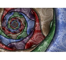 Spiral Pottery Photographic Print