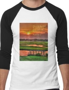 This is the day which the Lord has made... Men's Baseball ¾ T-Shirt