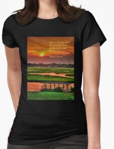 This is the day which the Lord has made... Womens Fitted T-Shirt