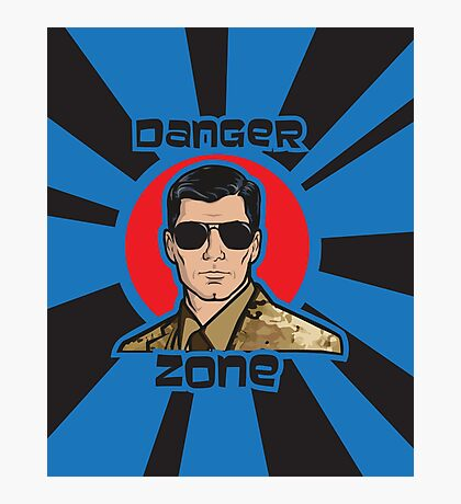 You Better Call Kenny Loggins - Military Uniform Version Photographic Print