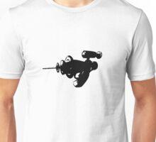Alien Ray Gun - Black Unisex T-Shirt