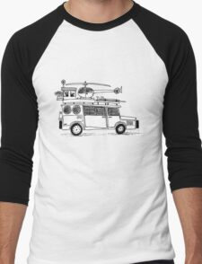 Car sketch Men's Baseball ¾ T-Shirt
