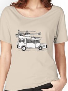 Car sketch Women's Relaxed Fit T-Shirt