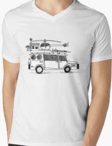 Car sketch Mens V-Neck T-Shirt