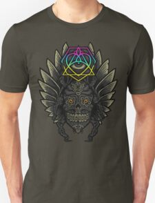 Winged Skull Scarab - Colors T-Shirt
