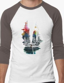 The Ambient Resolution Men's Baseball ¾ T-Shirt