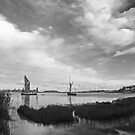 Snape Maltings Wherrys by StephenRB