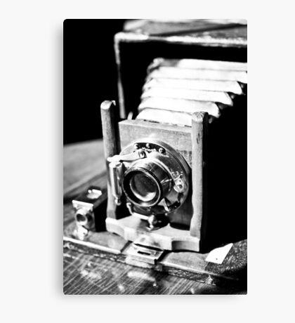 Old Camera Love Canvas Print