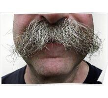 MUUSA Ken Mustache Poster