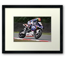Dan Linfoot - Motorpoint Yamaha Framed Print