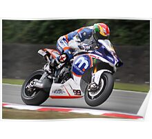 Dan Linfoot - Motorpoint Yamaha Poster
