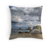 Northern Beach - Northern Skies Throw Pillow