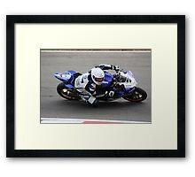 Billy McConnell - CAME Yamaha Framed Print