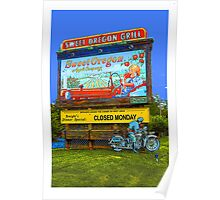 SWEET OREGON GRILL Poster