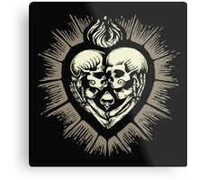 Love Beyond Death Metal Print