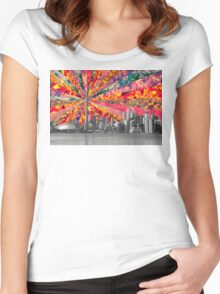 Blooming Toronto Women's Fitted Scoop T-Shirt
