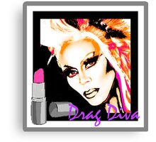 DRAG DIVA Canvas Print