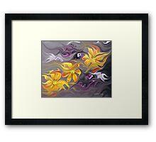 Flower Flight... Framed Print
