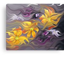 Flower Flight... Canvas Print