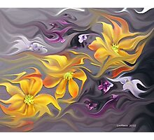 Flower Flight... Photographic Print
