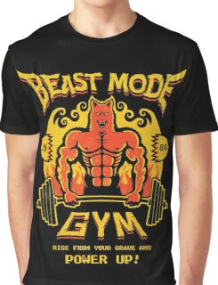 Beast Mode Gym Graphic T-Shirt